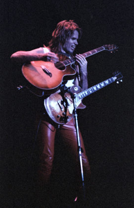 Picture of the rock band Vandenberg in concert taken by Bill O'Leary