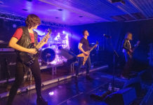 Picture of the band Insane in concert taken by Lennart Håård
