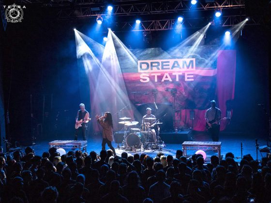 Picture of the band Dream State in concert taken by Emma Bauer