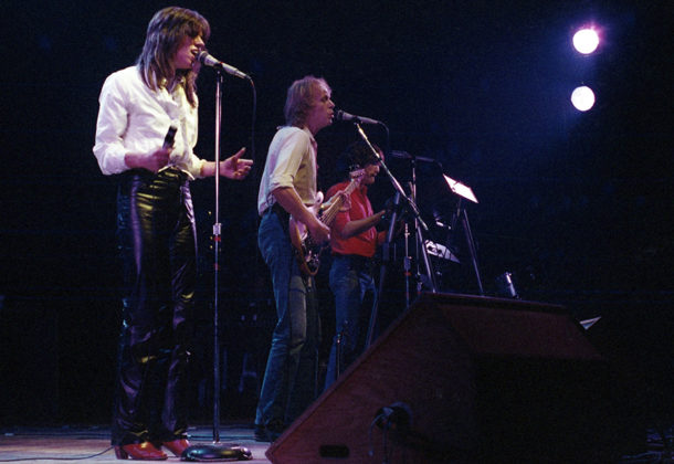 Picture of the band Zephyr in concert by Bill O'Leary