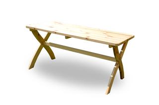 STRONG stůl - 150 cm - PŘÍRODNÍ