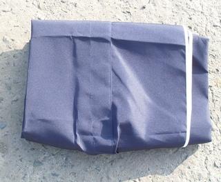 stříška k houpačce DE LUXE - modrá