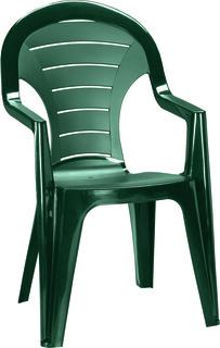 BONAIRE křeslo vysoké - zelené