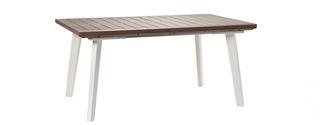 Stůl HARMONY EXTENSION bílý+cappuchino