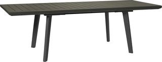 Stůl HARMONY EXTENSION grafit+šedohnědý