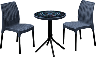 set CHELSEA+MOSAIC table grafit