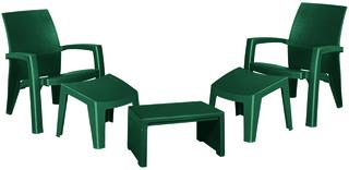 LAGO MAXI RELAX SET BOX - zelený