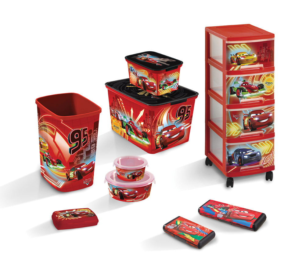 DECO CHEF box - 0,5L - CARS