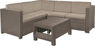 PROVENCE set - cappuchino + pískové podušky