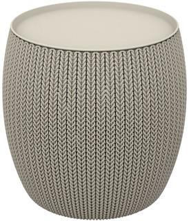 KNIT SINGLE TABLE (COZIES stolek) pískový