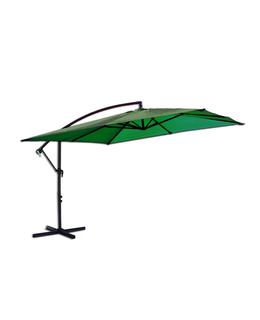 Slunečník kovový 8080 - 270x270cm - zelený