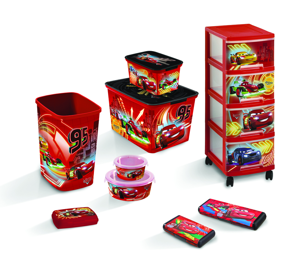 DECO CHEF box  - 1,2L - CARS
