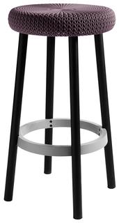 stolička COZY BAR stool - fialová
