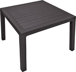 MELODY QUARTED stůl -  hnědý