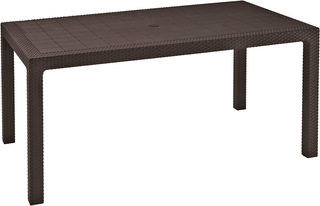 MELODY stůl - hnědý