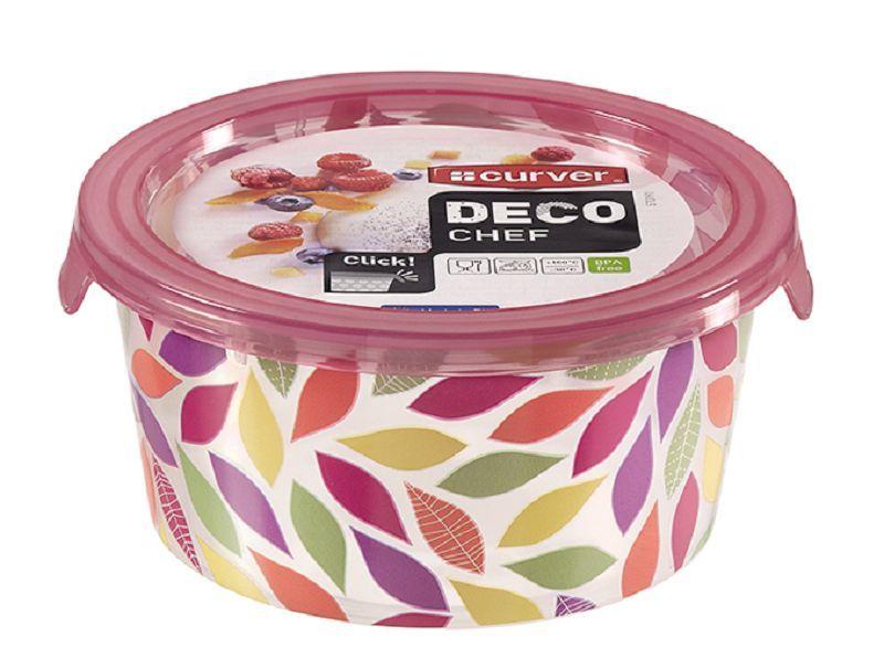 DECO CHEF 0,5L dóza - květy