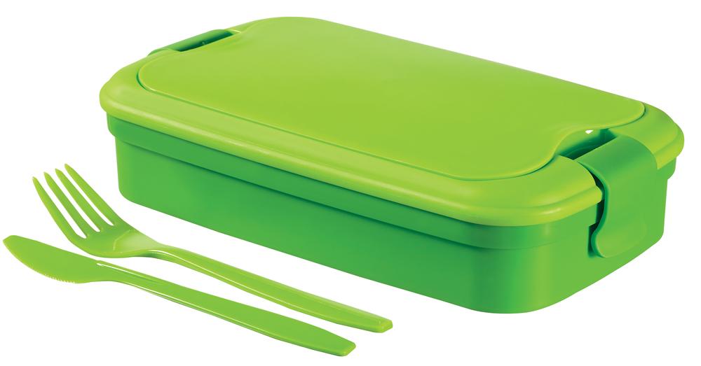 LUNCH & GO box - zelený