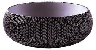 COZIES KNIT - L - květináč - tmavě fialová