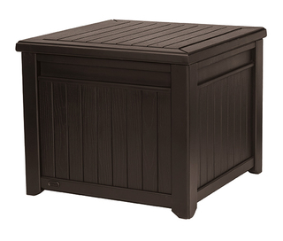 CUBE wood box 208L - hnědý