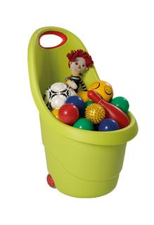 KIDDIES GO vozíček - zelený