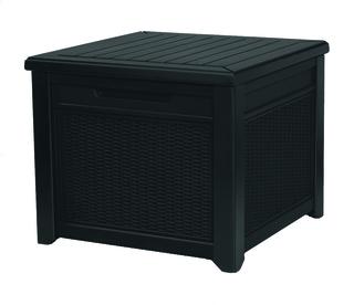 CUBE rattan box 208L - grafit