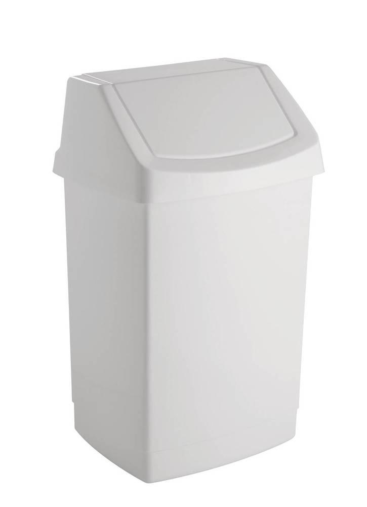 CLICK 9L koš odpadkový - bílý