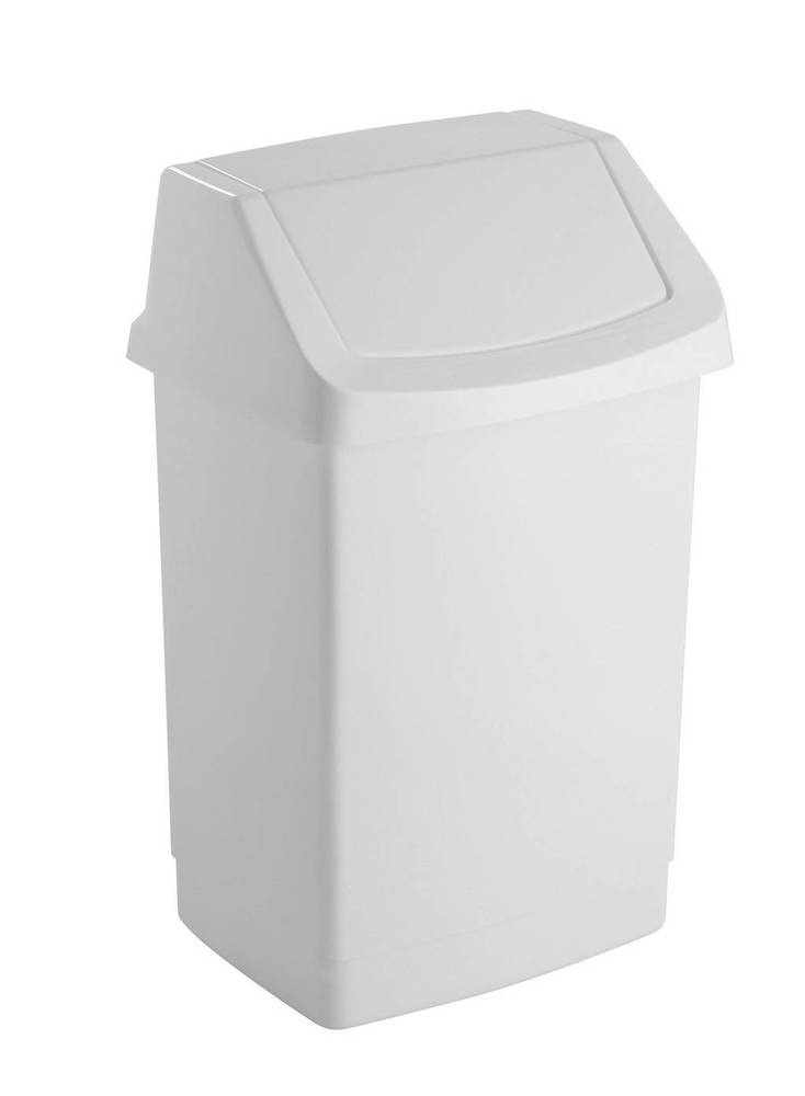 CLICK 15L koš odpadkový - bílý