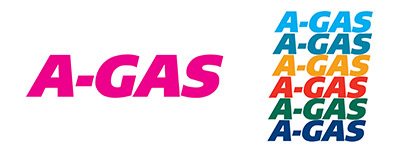 A-gas logos