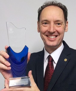 Steve Gill, named Consultant of the Year at last week's ACR News Awards