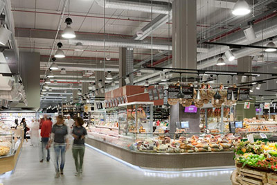EuroShop Retail Design Award winning projects: Coop Photographer : Marco Zanta