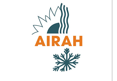 AIRAH logo orange-green