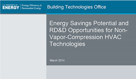 Energy Savings Potential and RD&D Opportunities for Non-Vapor-Co