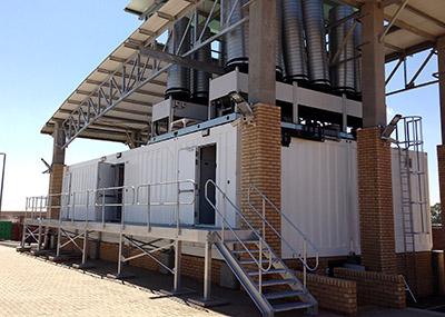Airedale Vodacom modular data centre