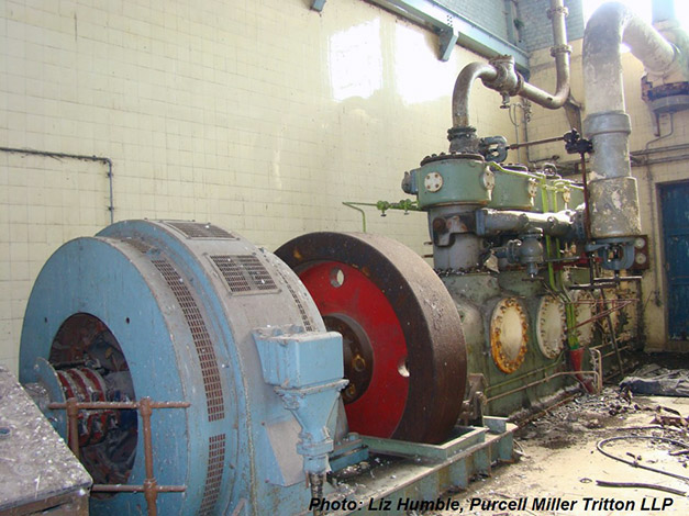 "The ""forgotten"" fifth J&E Hall compressor installed in the early 1950s"