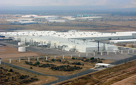 Work has already begun  on the construction of a new factory at the Millennium Industrial Park in San Luis Potosi, Mexico