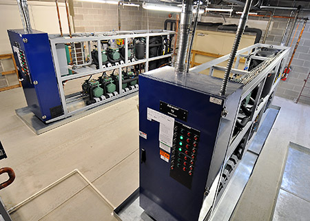The Danish Advansor CO2 refrigeration system is part of the Hill Phoenix portfolio