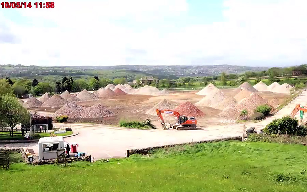 The Airedale site now