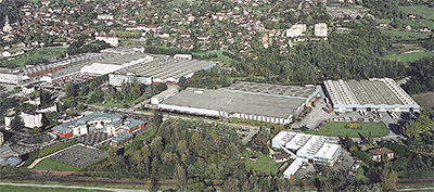 The CIAT factory in Culoz, France