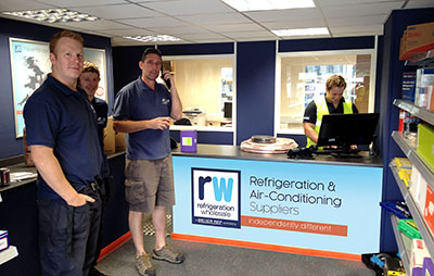 RW Refrigeration Wholesale Exeter branch