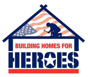 Building Homes for Heroes logo