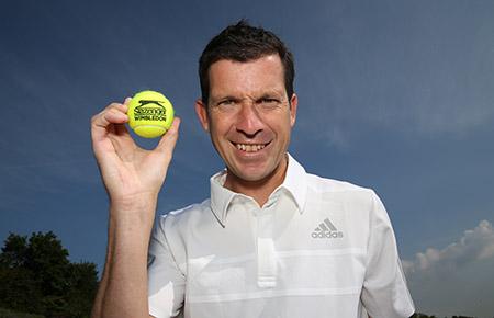 Tim Henman Slazenger tennis ball