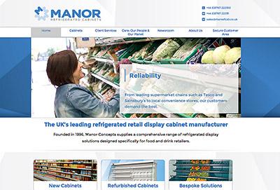 Manor website
