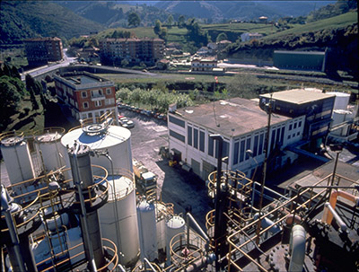 Arkema plant, Zamarillo. Spain