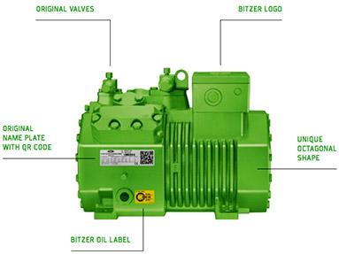Bitzer-compressor