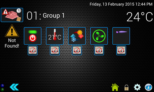 Group-control