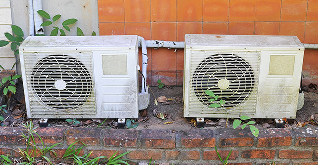 Old-air-conditioners