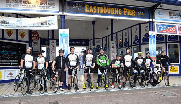 EastbournePier_CharityBikeRide