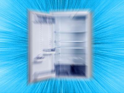 Exploding fridge