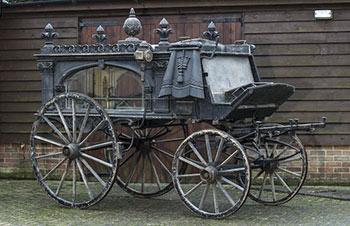 Victorian-hearse