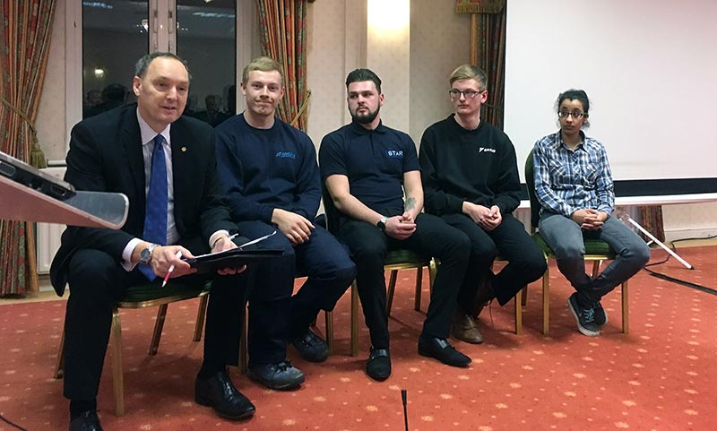 IoR president gives youth a voice